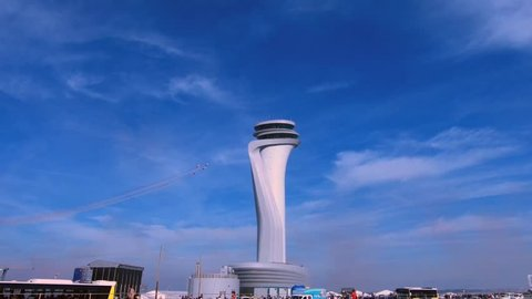 Istanbul new airport Turkey city istanbul. Sabiha gokcen airport, ataturk airport is also in istanbul. This airport has the world largest aircraft, human, passenger capacity and located in europe.