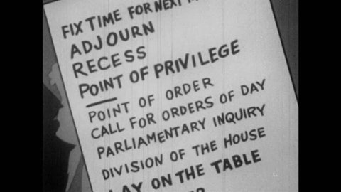 1950s: Point of Privilege on list of Priority of Motions to stop attendees from causing discomfort or offense. Other subordinate motions are added to the list, including Postpone Indefinitely.
