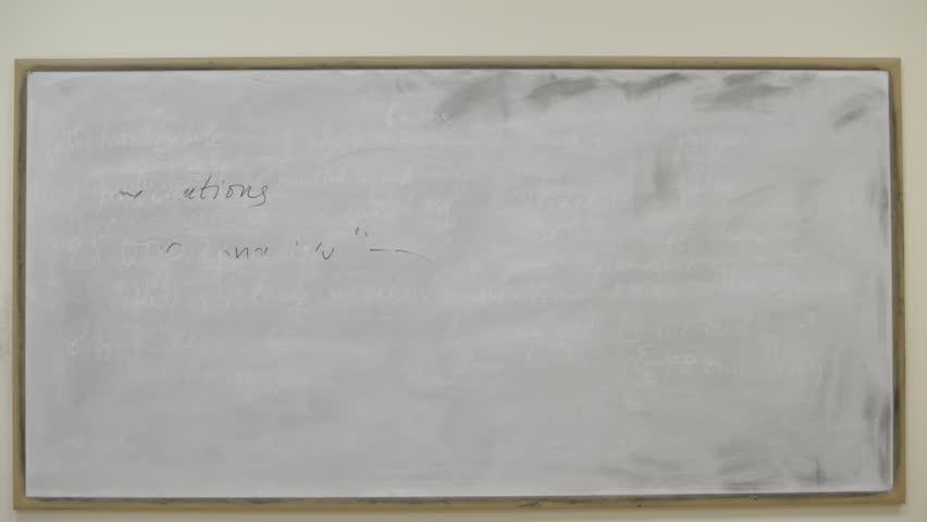 Student erase a white board. education theme.  | Shutterstock HD Video #10202528