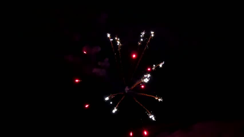 Bright Flash of Fireworks Pittance Stock Footage Video (100% Royalty-free)  1020318055 | Shutterstock