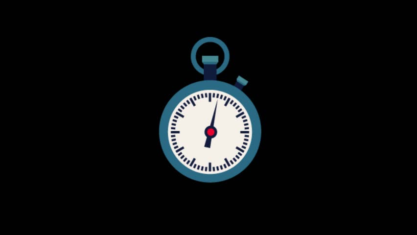 Timer symbol animation.Sport icons animation | Shutterstock HD Video #1020628915
