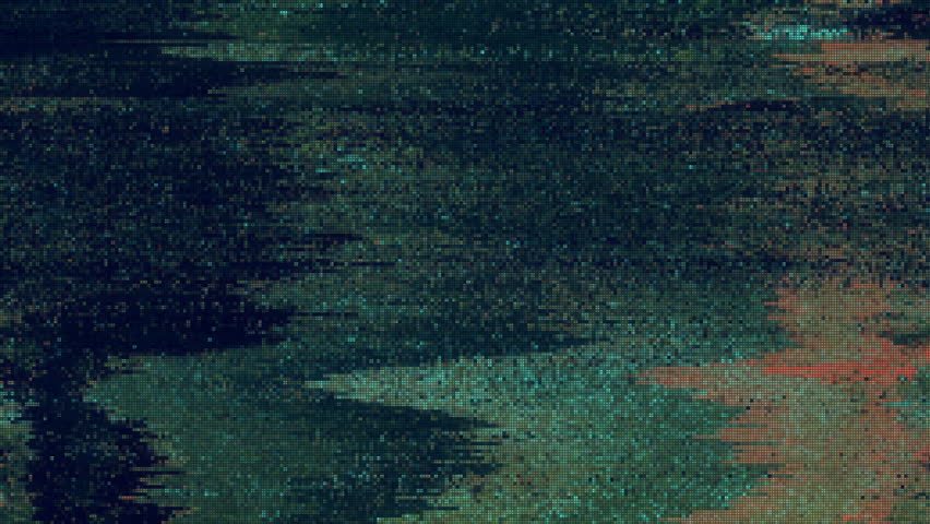 Unique Design Abstract Digital Animation Pixel Noise Glitch Error Video Damage #1021042585
