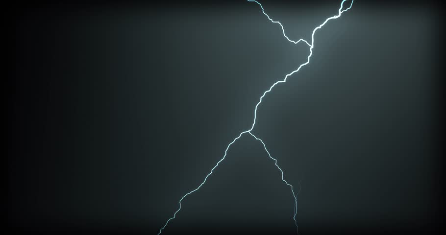 Lightning strikes on a black background | Shutterstock HD Video #1021536625