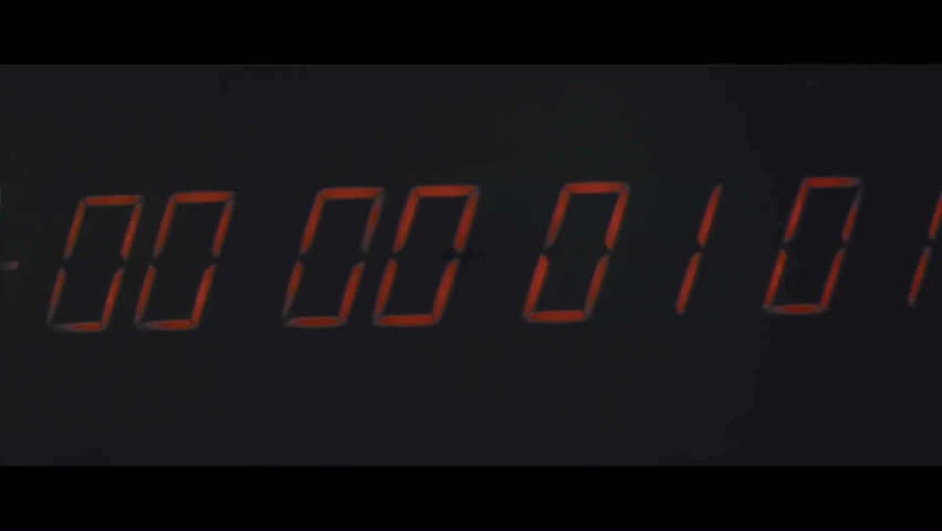 CIRCA 1968 - The last minute's countdown for Saturn V's launch is shown, and it lifts off. | Shutterstock HD Video #1021665115