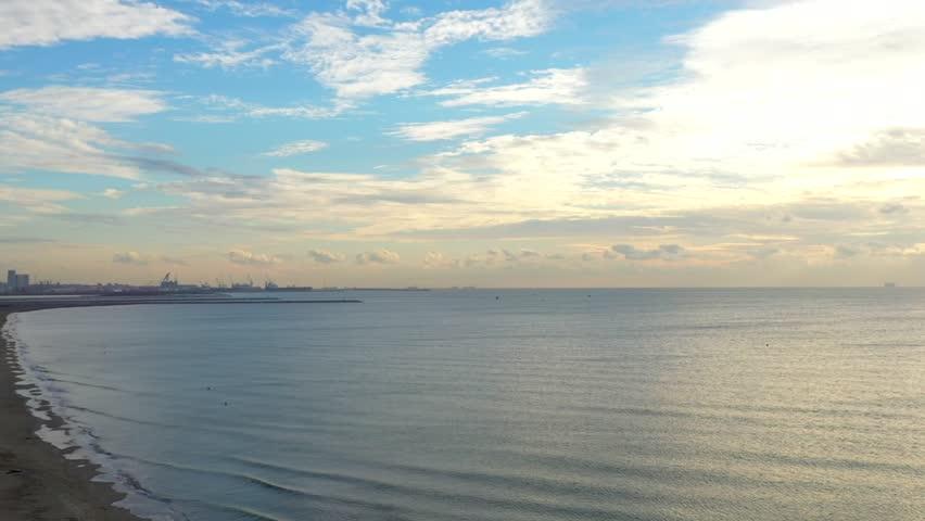 Coastline drone view   Shutterstock HD Video #1021755475