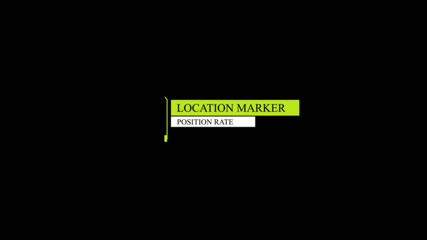 HUD markers animation | Shutterstock HD Video #1021896565