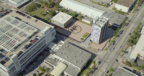 Braman BMW Miami >> Miami Fl Usa Jnuary 5 2019 Bacardi Building Miami 4k 60p Aerial Footage