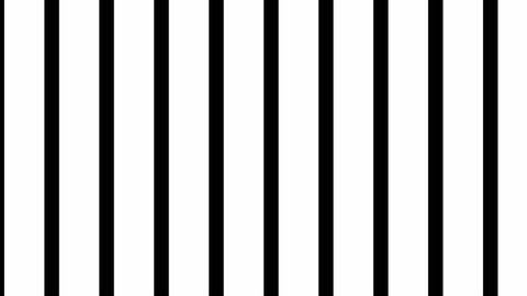 Vertical venetian blind transition animation