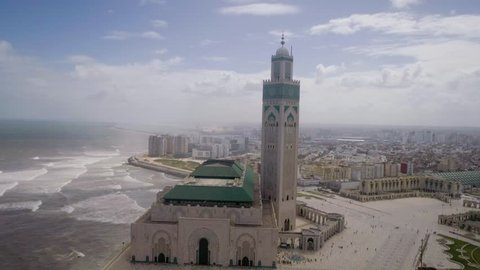 The Hassan II Mosque or Grande Mosquée Hassan II is a mosque in Casablanca, Morocco. It is the largest mosque in Africa, and the 5th largest in the world.