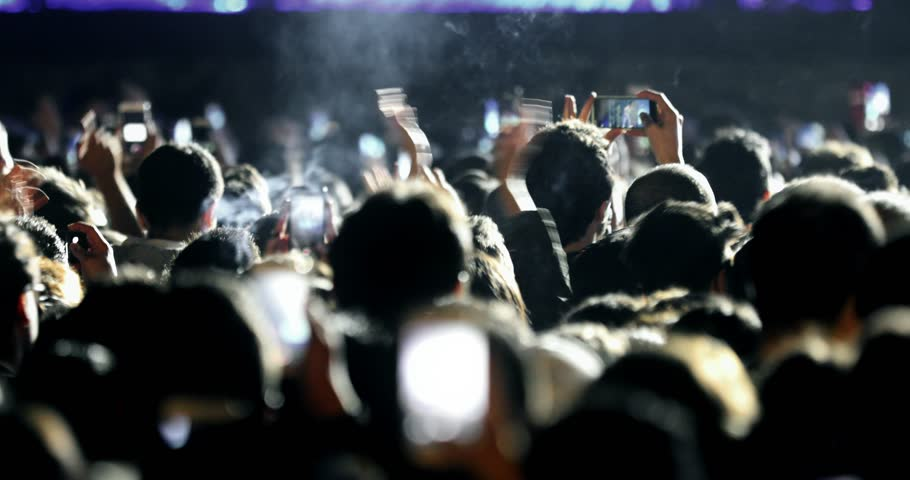 CONCERT Series hall crowd applause concert stage concert music festival crowd, crowd music crowds entertainment, night outdoor lifestyle festivals 4K stadium crowd, friends woman party dancing concert | Shutterstock HD Video #1022213845