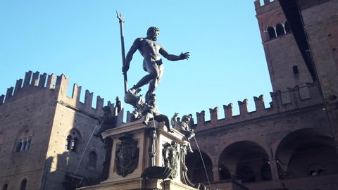Fountain of Neptune, Bologna, Italy