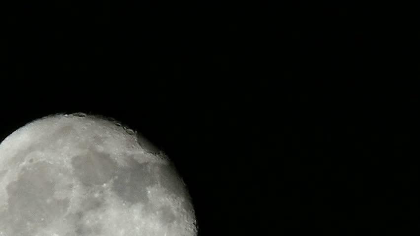 Dark space moon | Shutterstock HD Video #1022631505