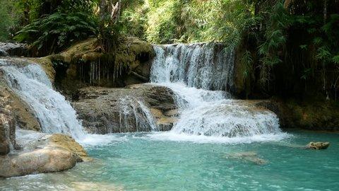 Kuang Si Waterfall Laos Travel