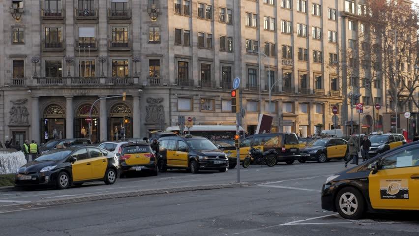 Barcelona, Catalunyaspain - 20 January Stock Footage Video (100%  Royalty-free) 1022900785 | Shutterstock