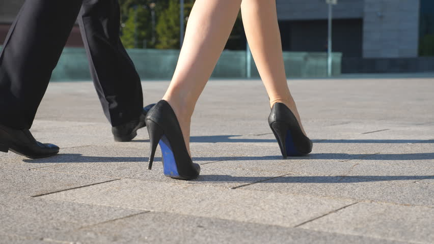 High heels outdoors hope, it's