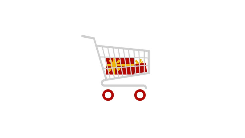 Shopping Cart with Gift Boxes Stock Footage Video (100% Royalty-free)  1023067285 | Shutterstock