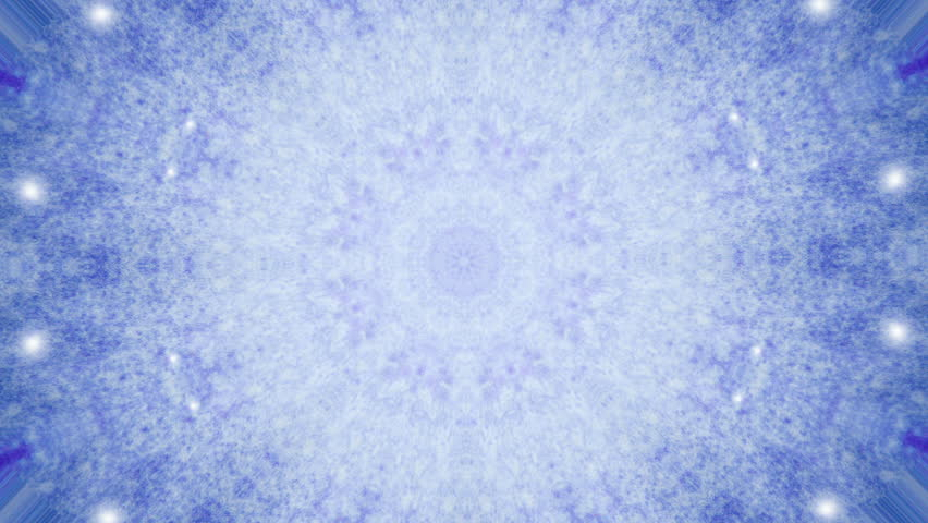 Abstract kaleidoscope motion background. Sequence multicolored graphics ornaments patterns. Blue white, Christmas New Year lace motifs sequins, falling snow. Seamless loop. Winter Light backdrop. | Shutterstock HD Video #1023096415