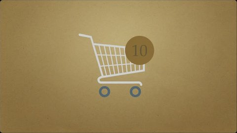 Animation of Adding Items to Stock Footage Video (100