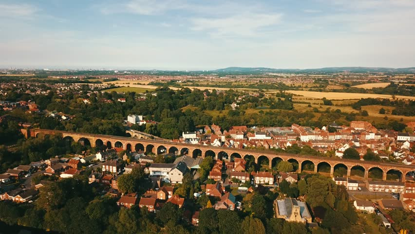 The Historic Railway Town Of YARM, North Yorkshire | Shutterstock HD Video #1023267865