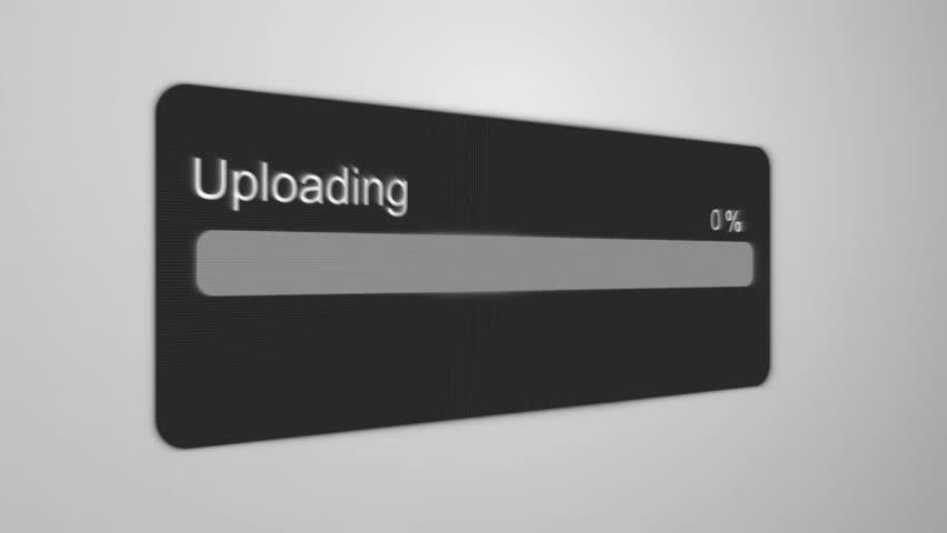 Upload Process Animation | Shutterstock HD Video #1023637315
