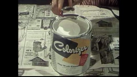 CIRCA 1950s - The Colorizer system of paint matching and mixing, with a tribute to the role color consciousness plays in everyday life.