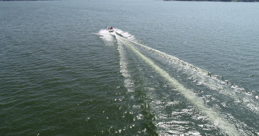 Boat Drone shot | Shutterstock HD Video #1024084295