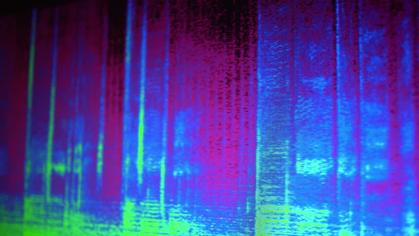 Digital Audio Spectrogram | Shutterstock HD Video #1024100465