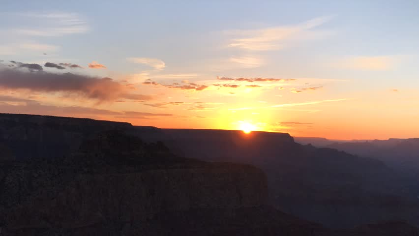 Sunset Time Lapse over the Grand Canyon | Shutterstock HD Video #1024106615