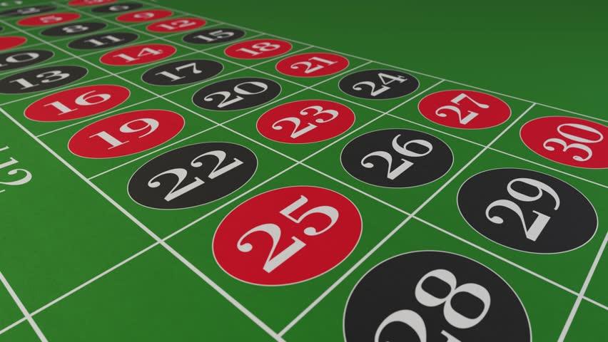 Casino chips fall on roulette table gambling drop win money | Shutterstock HD Video #1024147145
