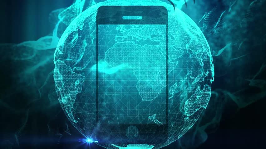 Ecommerce global reach concept  | Shutterstock HD Video #1024289495