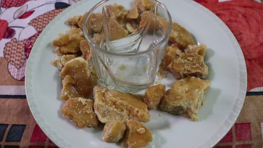 Image result for jaggery with hot water