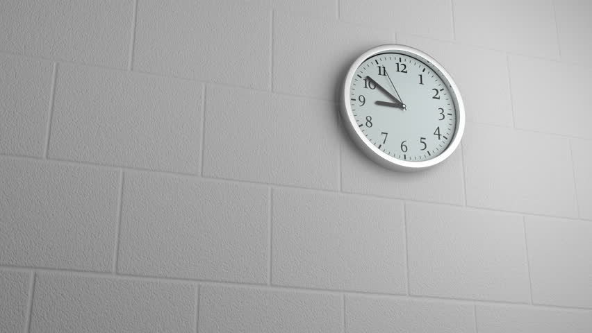 Wall Clock Fast Moving   Shutterstock HD Video #1024889795