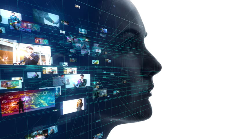 AI (Artificial Intelligence) concept. | Shutterstock HD Video #1025105315
