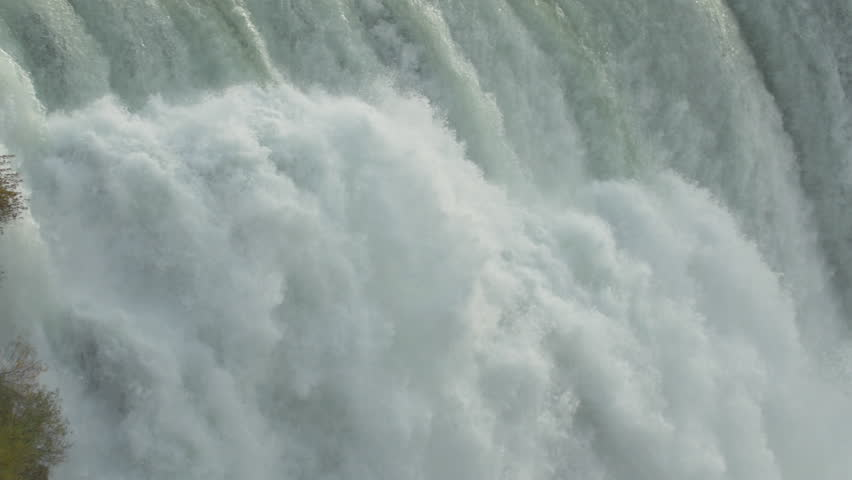 Amazing energy at Niagara Falls, USA  | Shutterstock HD Video #10252445
