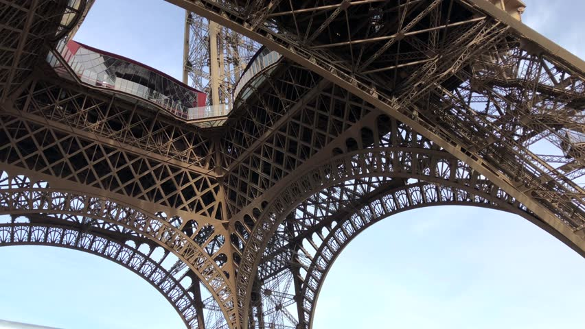 Eiffel Tower Paris France    Shutterstock HD Video #1025723375