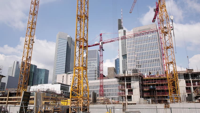 Big City Construction Work in Time Lapse   Shutterstock HD Video #1027230575