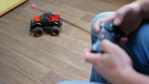 How Remote Controlled Car Works Stock Video Footage 4k And Hd