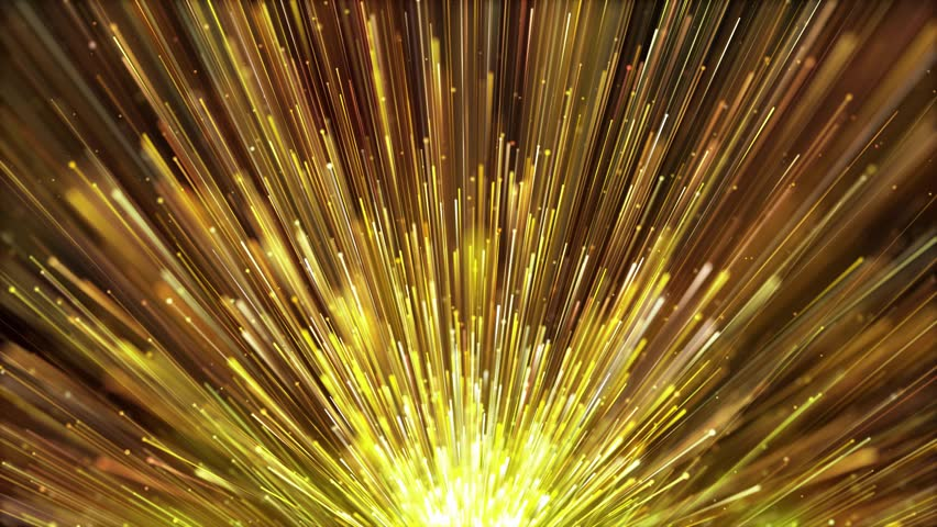 Golden particles light rising is a spectacular motion graphics background. Golden light stripes continue to rise, and the luxury awards ceremony video. Party celebration video, music stage TV show. | Shutterstock HD Video #1027597475