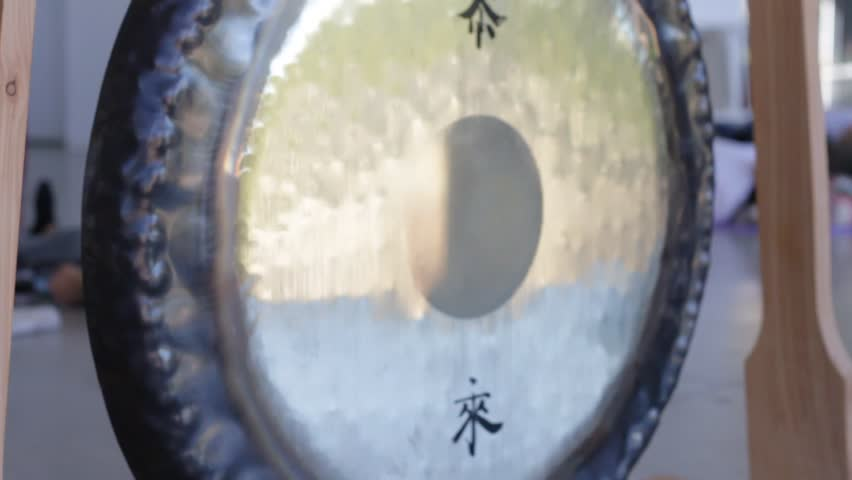 Gong beautiful View, Asian Gong culture,Abstract Gong metal design and Relaxing Gong Sound