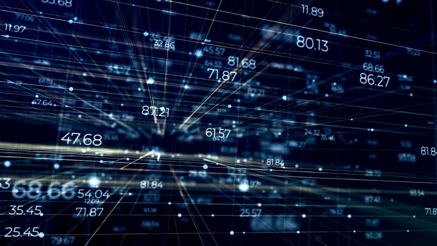 Abstract Field Random Numbers | Shutterstock HD Video #1028238425