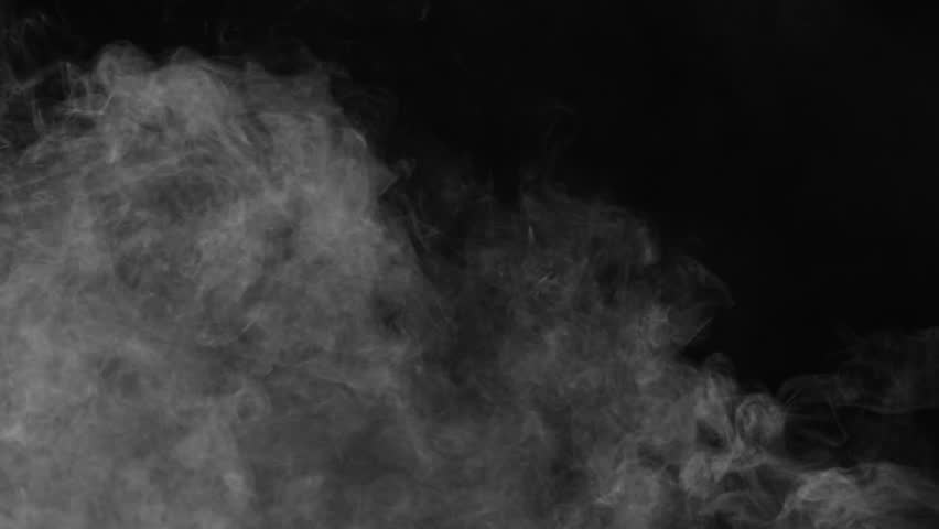 Smoke , vapor , fog - realistic smoke cloud best for using in composition, 4k, use screen mode for blending, ice smoke cloud, fire smoke, ascending vapor steam over black background - floating fog | Shutterstock HD Video #1028275235