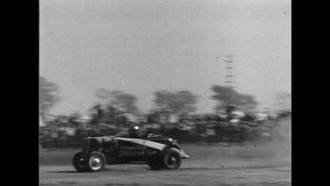 CIRCA 1930s - The Gilmore, California stock car race of 1934.