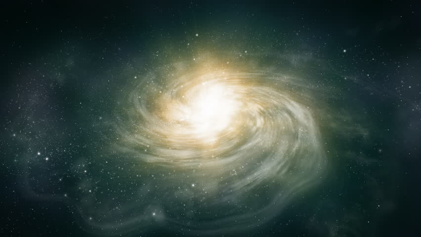 Procedural Realistic CGI Galaxy Fly By. #1028473235