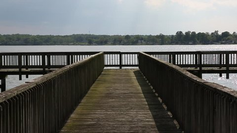 Pier Overlooking Water at Patuxent River