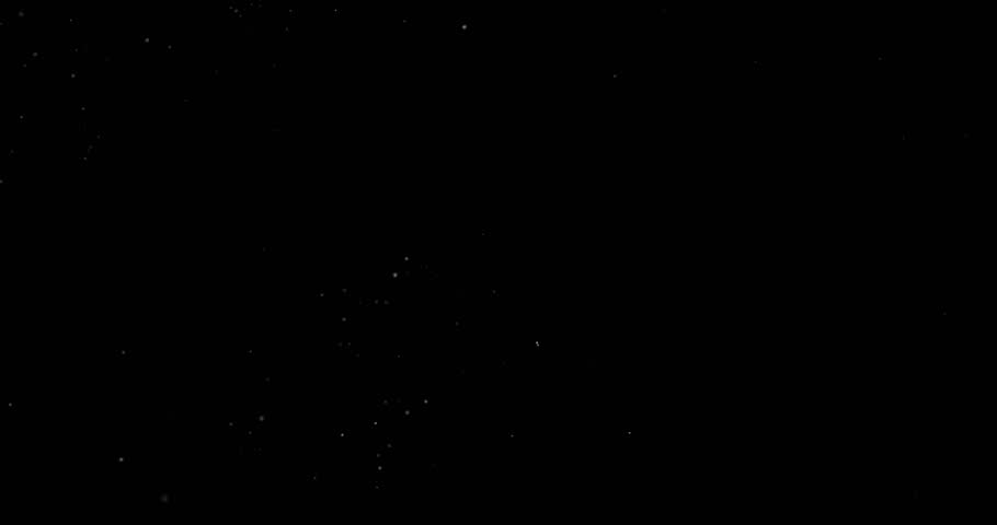 Flying dust particles on a black background | Shutterstock HD Video #1028814005