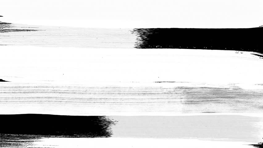 Paint Brush Strokes Transition is a stock motion graphics video of realistic paint brush strokes transitions of white luma mattes on black background, for revealing the photo or video backgrounds.  | Shutterstock HD Video #1028862665
