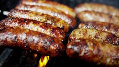 Organic Healthy Living Low Fat Flame Grill Meat Sausages Classic BBQ Meal Option