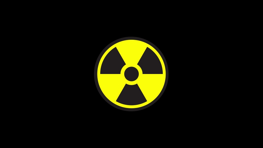Animated radiation spinning around on a background    Shutterstock HD Video #1030215395