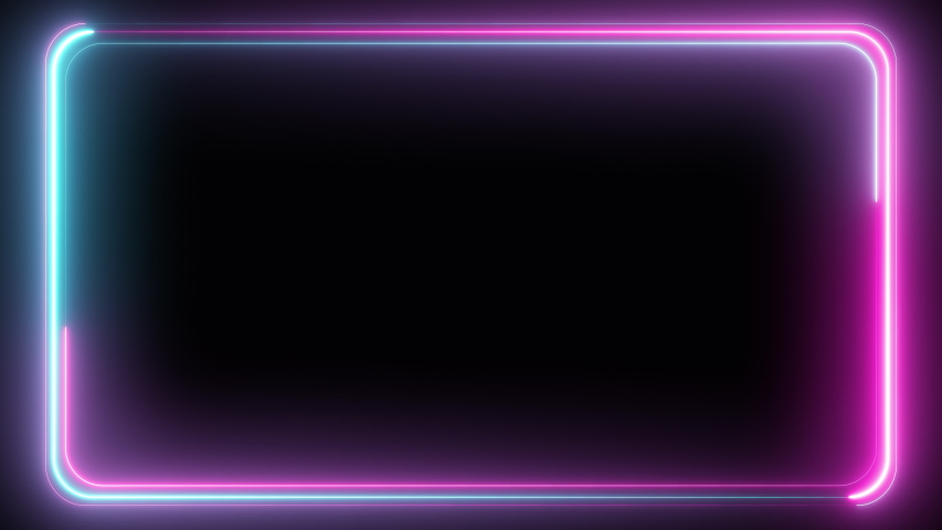 Abstract seamless pattern of neon glowing ultraviolet lines, modern fluorescent light, neon box, pattern for LED screens projection technology, loop 4k background, blue purple spectrum   Shutterstock HD Video #1030218665