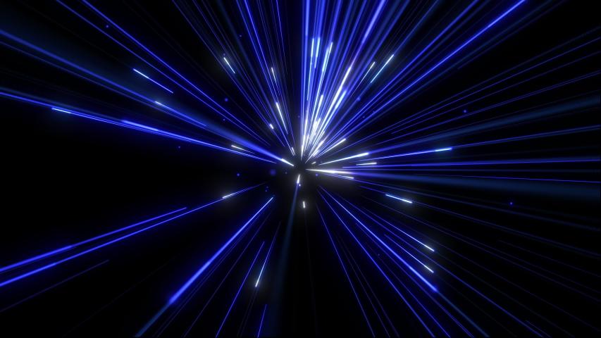 Blue Supersonic Light Streaks Fly Stock Footage Video (100% Royalty-free)  1030833935 | Shutterstock